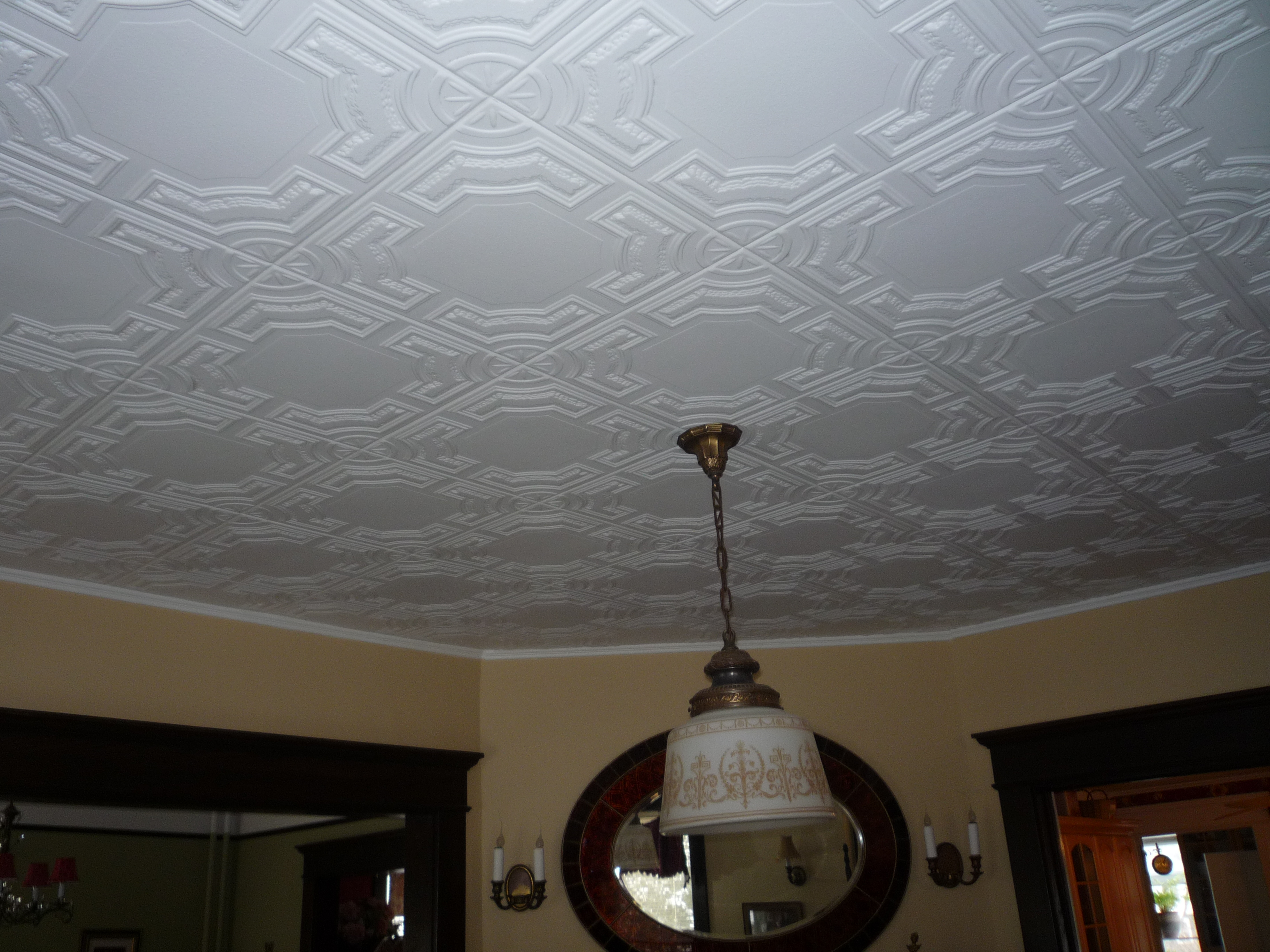 My clients projects decorative ceiling tiles incs blog ceiling tiles installed in new york dailygadgetfo Choice Image