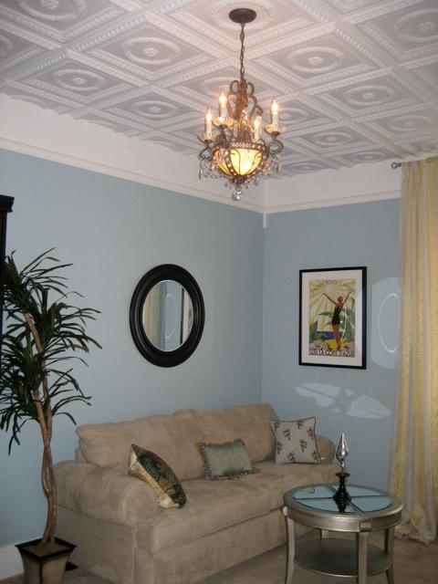 Faux Tin Ceiling Tiles In Glen Cove New York