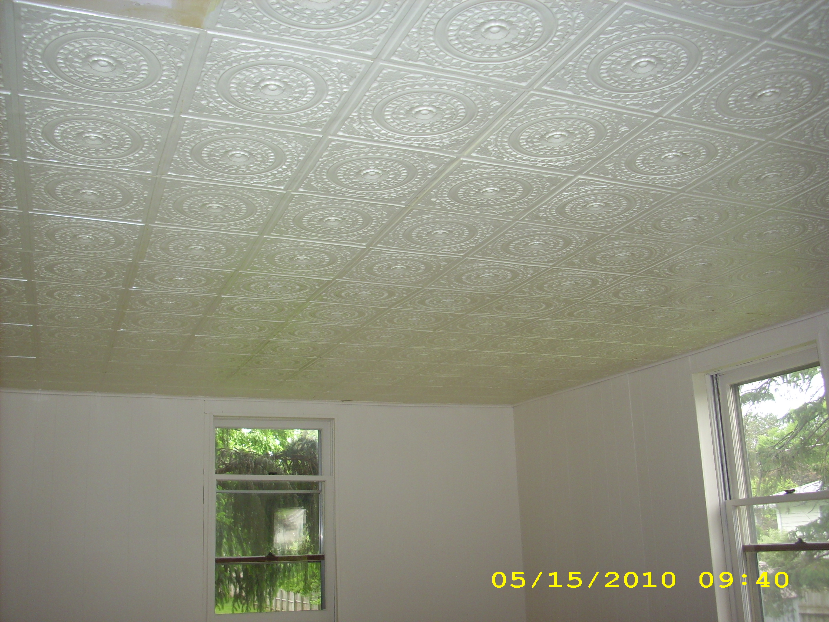 Faux Tin Ceiling Tiles Iowa City Iowa Decorative Ceiling Tiles
