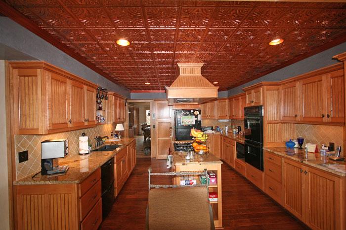 Kitchen Copper Ceiling Decorative Ceiling Tiles Inc S Blog