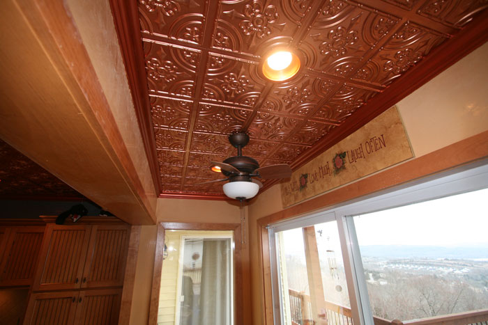 Kitchen Copper Ceiling Decorative Ceiling Tiles Inc S Blog